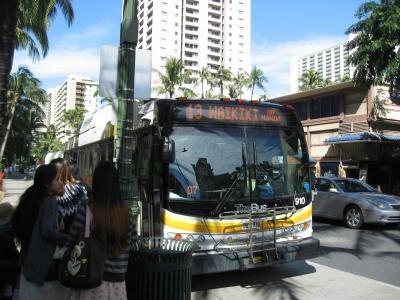 久しぶりのハワイ、路線バス旅 1 羽田空港ーホノルル空港