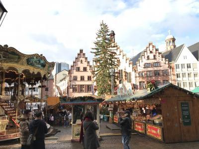 イギリス、ドイツで一足早いクリスマス⑥ サプライズ続きのホテルステイとフランクフルトクリスマスマーケット