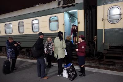 2017年 ジョージア旅行記 3 寝台列車でトビリシへ