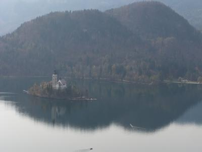 トリュフとワインを愉しむイストラ半島 その2  スロベニア、ブレッド湖と美しい村ピランへ。