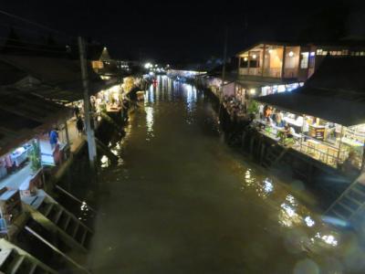 タイ 「行った所・見た所」 アムパワー(バンコク郊外)のチャイプリスアンアンパワーホテルに宿泊して運河遊覧と散策