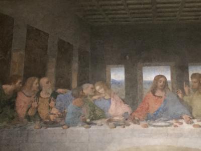 「最後の晩餐」を鑑賞して美味しいイタリアンを食すミラノ1泊2日の旅②