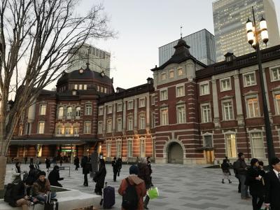 駐在のついでに 【その〇〇】香港から日本への出張。ようやく工事が完了したらしい東京駅丸の内口へ!