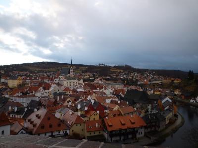 中央ヨーロッパ5ヶ国周遊8日間ツアー、チェスキー・クルムロフへ