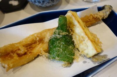 20171220 門前仲町 ふく庵の天ぷらお昼ごはん