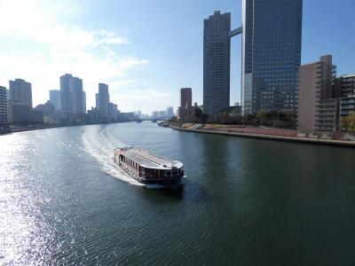 東京ウオーターフロント・隅田川を浅草から勝鬨橋まで歩く