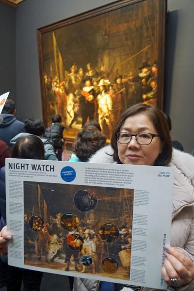 ドイツ・ベルギー・オランダ3か国のクリスマスマーケット巡り(11) アムステルダム国立美術館で夜警を観てマヘレの跳ね橋の夜景を見てラディソンBLU・スキポールに泊まる。
