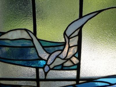 初秋の愛媛旅行♪ Vol45(第3日) ☆松山:「萬翠荘」大正時代のステンドグラスは美しい♪