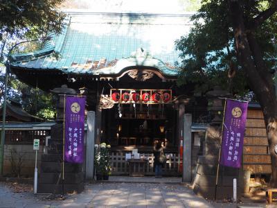 戸越八幡神社 毎季節ごとに訪れます。願い事が叶うスポットとしても人気です。