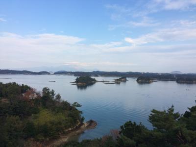 天草松島温泉「天空の船」で夫婦忘年会。