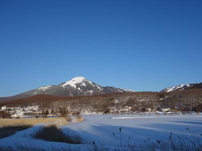 2017年3月 白樺湖畔で春の雪遊び