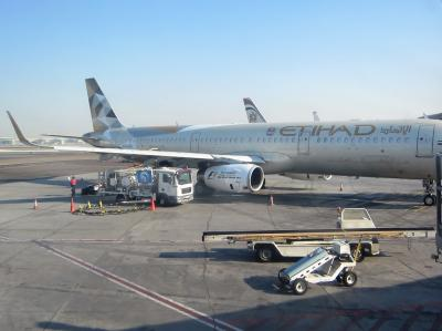 エティハド航空 ビジネスクラス B777・A321・A320 [マニラ→アブダビ→カイロ→アブダビ]  ニューヨーク&バハマ2