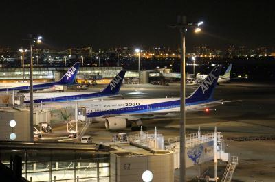 今年のクリスマスも終わり・・・羽田空港のデコレーション、イルミを楽しむ。