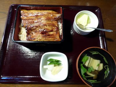 オデッセイのリコール 蒲焼・割烹 凡道留(ぼんどーる) 富士店の昼食