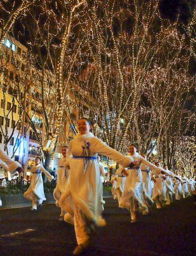 光と音楽とサンタでいっぱい!クリスマスのパレード★サンタの森の物語★SENDAI光のページェント★