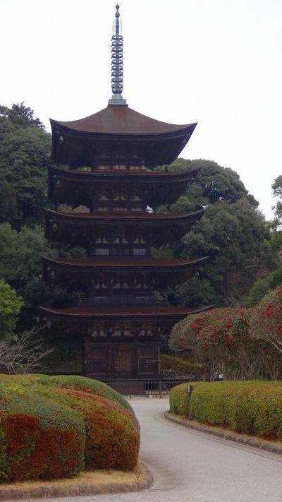 本場・下関ふぐと長門湯本温泉3日間の旅(8) 瑠璃光寺の参拝。