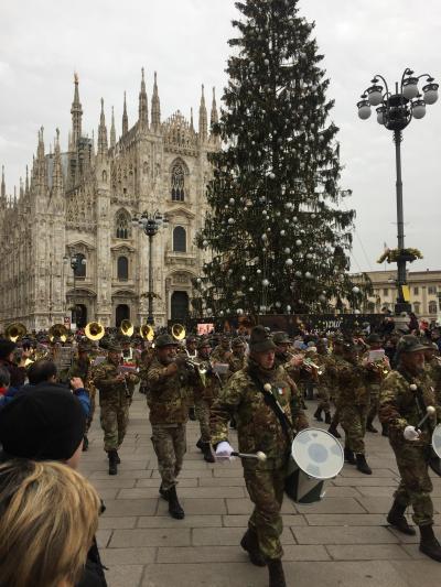 真冬のイタリア8日間  ミラノ ベネチア フィレンツェ ローマ