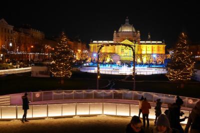 2017年 クリスマスマーケット(ドイツ・ザクセン、ザグレブ)