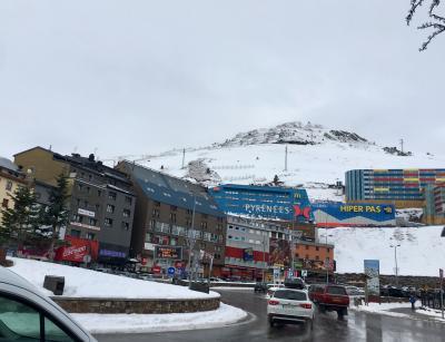 北スペインとピレネー山脈レンタカー旅、20日間 30 フランス、ピレネーアンドラ
