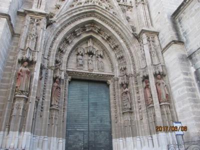 イベリア周遊の旅(86)セビリアの大聖堂。