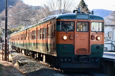 18きっぷ 吾妻線完乗 115系 川原湯温泉と八ッ場ダム訪問