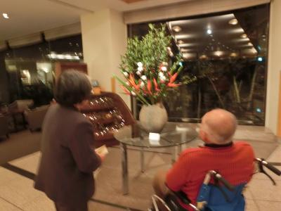 車椅子になってしまった88歳の父と83歳の母と私の3人で鬼怒川へ! 宿泊は東急ハーヴェストクラブ鬼怒川です。