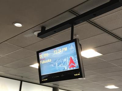 2017わくわくハワイIII 4泊6日⑨5日目 デルタ航空福岡直行便で帰国 最終日