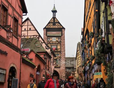 ドイツ 黒い森とアルザスのクリスマス【2】(ストラスブール/リクヴィール/コルマール)
