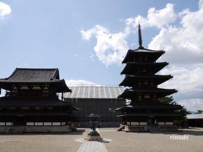 大阪~美味しいもの巡り~奈良~法隆寺観光