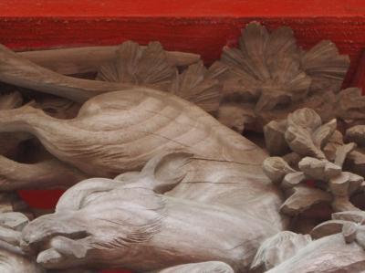 藤森稲荷神社 徳川家光創建 東郷平八郎の甥・吉太郎氏の書いた碑が・・