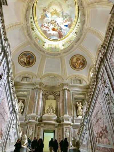 2017年冬!南イタリアドライブ8日間~5日目カゼルタ宮殿とスパッカ・ナポリ
