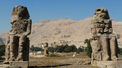 悠久の歴史に触れるエジプト・ナイル川クルーズ8日間~3日目 ルクソール西岸観光~