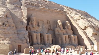 悠久の歴史に触れるエジプト・ナイル川クルーズ8日間~5日目 イシス神殿、アブシンベル神殿~