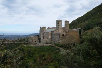 2017カタルーニャ紀行  サン=ペレ=デ=ロデス(Sant Pere de Rodes)