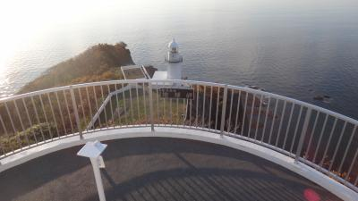 室蘭10月 早朝散歩の地球岬
