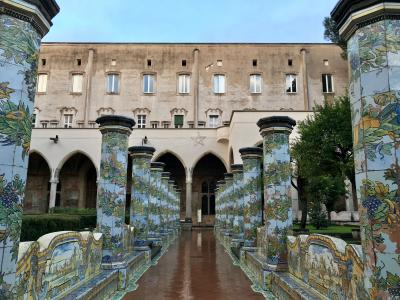 2017年冬!南イタリアドライブ8日間~6日目カポディモンテ美術館とスパッカナポリ散策