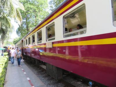 タイ 「行った所・見た所」 カンチャナブリのクウェー川鉄橋駅からタムクラセー駅に