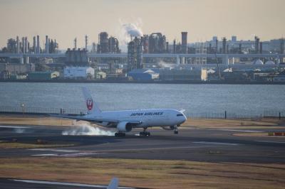 クリスマスの羽田空港で今年を振り返る