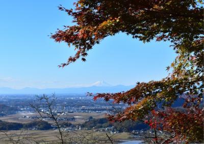 久しぶりの栃木市レトロ探し歩き1 その前にちょっくら太平山の紅葉見物
