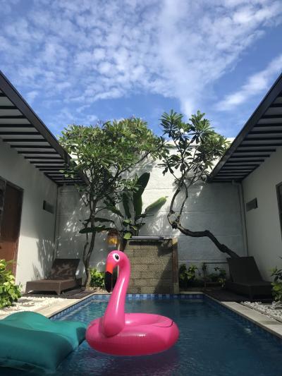 またまたバリ島へ、スミニャックThe vie villa 滞在編