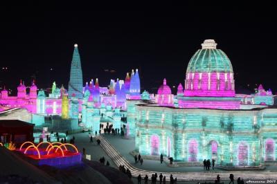 ハルビン氷祭りが目的なのにソウル、青島経由の旅その3 (ついに氷祭りへ!哈爾浜編1)