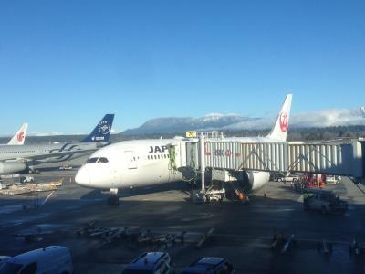 日本航空で行くバンクーバーの旅  その1