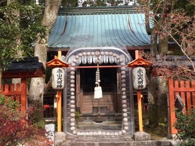 京都旅行 紅葉一日目観光~北白川 赤山禅院-鷺森神社