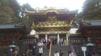 宇都宮、日光、東京一人旅