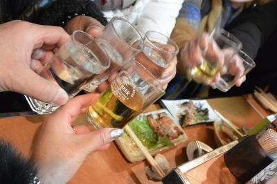 2017年~2018年 年越し博多で飲みまくり~食べまくり~♪vol.1~「おおやま」でもつ鍋ランチ~「中州屋台 松ちゃん」~「テムジン」でハシゴ酒~「ホテルモントレ ラ・スール福岡」で年越し~