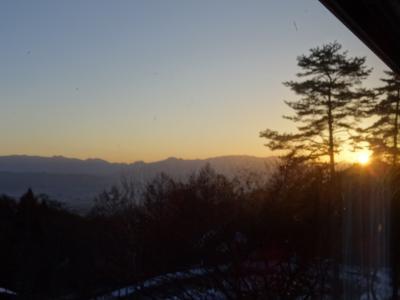 冬の安曇野 2日目