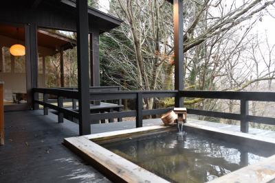 星野リゾート 界 阿蘇 【 離れ露天風呂付 和洋室 】 クヌギの原生林に囲まれた12の離れが素敵すぎ ♪