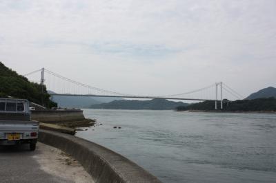しまなみ海道旅行記2017年夏(10)大島大橋と大島編