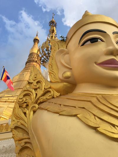 3泊4日でふらり一人旅 in ミャンマー。その1:ヤンゴン散策編