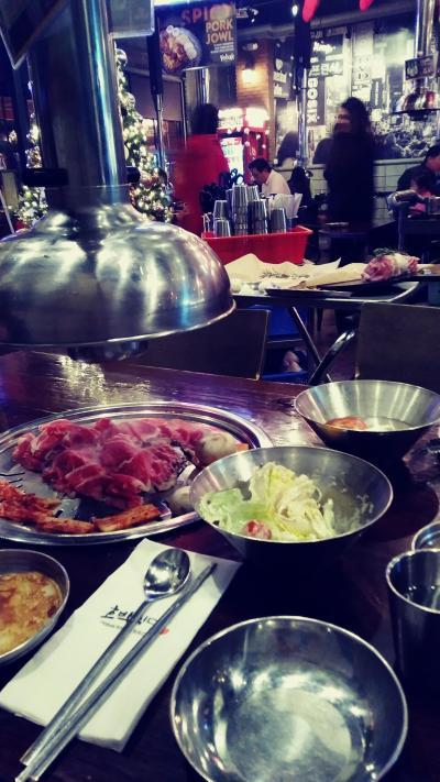 ラスベガスで韓国焼肉三昧のクリスマス(-_-;)
